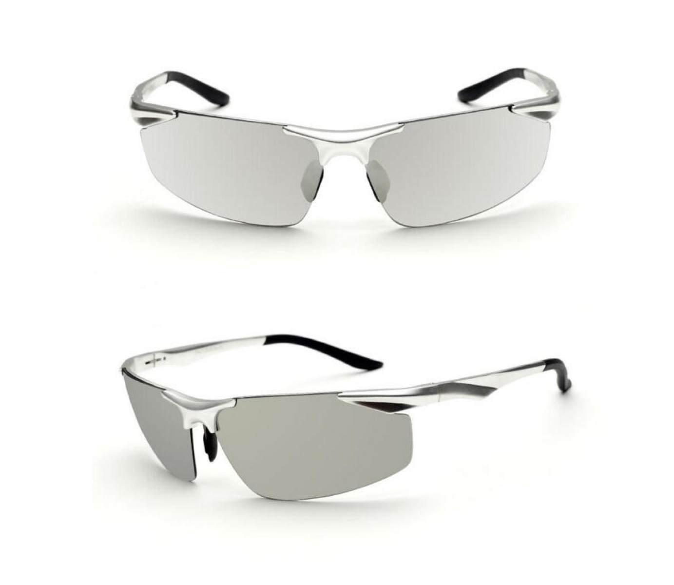 Art Und Weise Kühle Sonnenbrille Polarisierte Aluminium- Und Magnesium-bunte Sonnenbrille-Mann-Sonnenbrille-Art- Und Weisegläser-Sport-Sonnenbrille,Grey