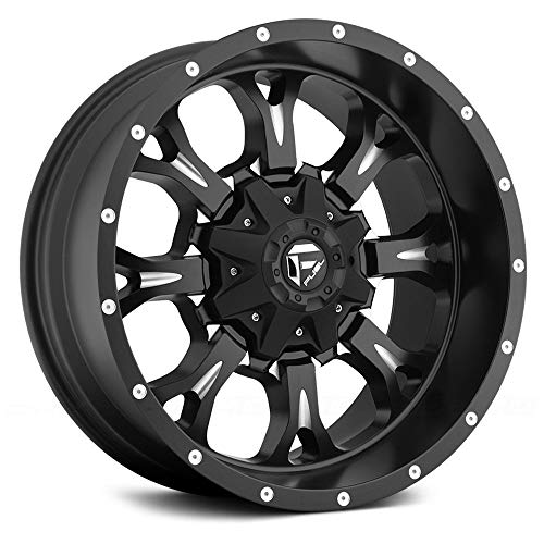 - Fuel D517 Krank Matte Black Milled 20x10 8x6.5 -12mm (D51720008250)