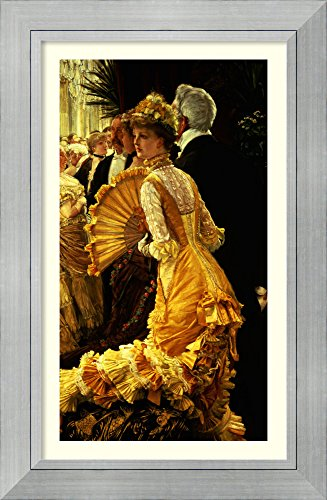 Framed Art Print 'The Ball, c.1878' by James Jacques Joseph Tissot -