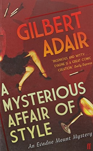 book cover of A Mysterious Affair of Style