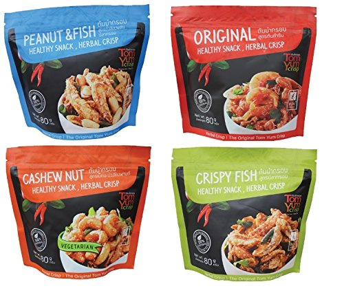 Tom Yum Crisp Snack pack of 4
