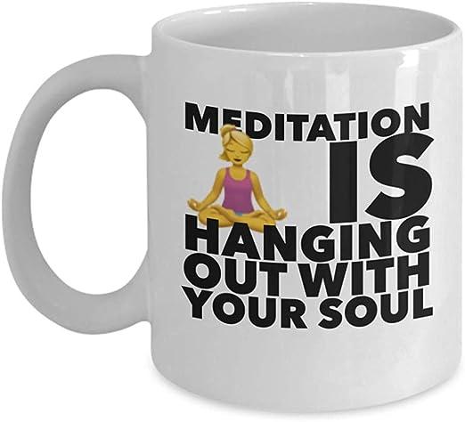 Yoga Instructor Coffee Mug Funny Namaste in Bed Mug Ideas ...