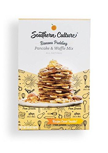 Southern Culture Foods Banana Pudding Pancake & Waffle Mix by Southern Culture Foods