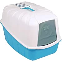 MPS2 KOMODA CAT TOILET LITTER BOX BLUE COLOUR W REPLACEABLE CARBON FILTER