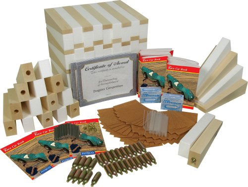Pitsco Basswood CO2 DragPak (For 50 Students)