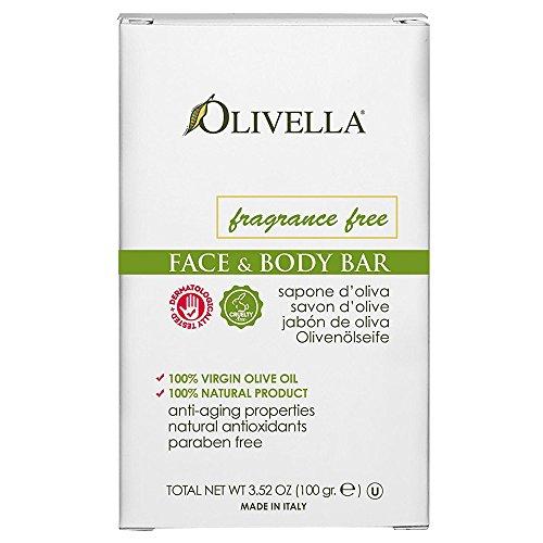 Olivella - Virgin Olive Oil Fragrance Free Bar Soap - 3.52 oz.