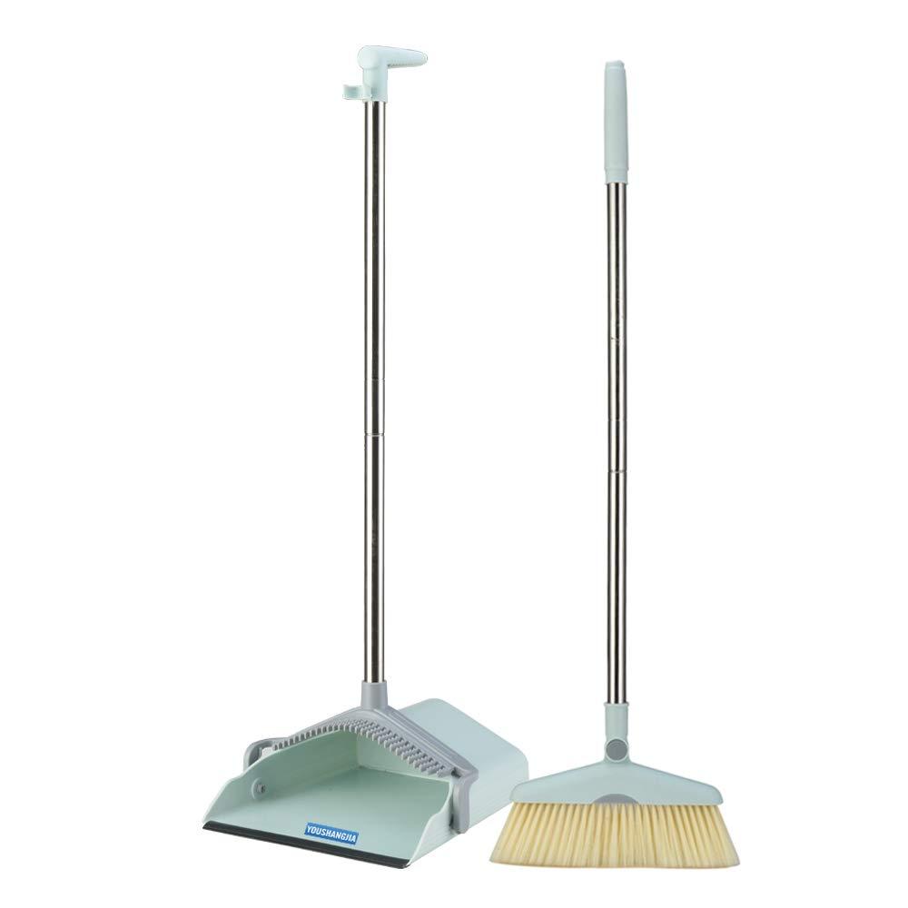 Broom set Sweep Set Dustpan kit Dustpan Foldable Set Broom holder mop holder Broom Combo Upright Grips Broom