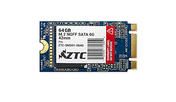 64GB ZTC Armor 42mm M.2 NGFF 6G de estado sólido SSD disco-ZTC ...