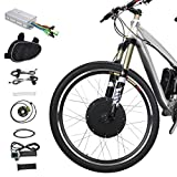 """Voilamart 26"""" Front Wheel 48V 1000W Electric Bicycle Conversion Kit E-bike Cycling Brushless"""