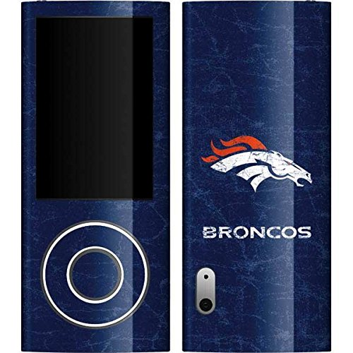 Skinit Denver Broncos - Distressed Vinyl Skin for iPod Nano (5G) (Denver Broncos Nfl Nano)
