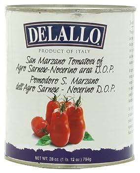 DeLallo Imported San Marzano Whole Peeled Tomatoes