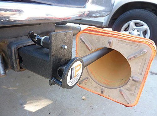 2'' Trailer Hitch Mounted Receiver Safety Cone Holder for Work Trucks, Vans by Innovative Logistics Products (Image #4)