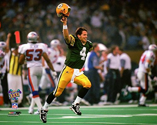 (Green Bay Packers Bret Favre During Super Bowl XXXI 8x10 Photo, Picture)