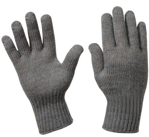 [Rothco Gi Wool Glove Liners, 6 Size, Foliage] (Nylon Glove Liners)