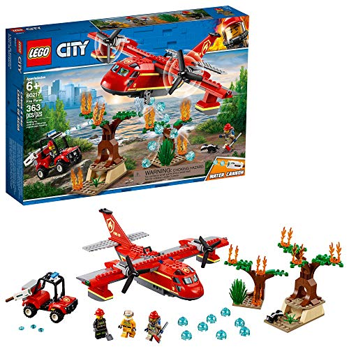 (LEGO City Fire Plane 60217 Building Kit , New 2019 (363 Piece))