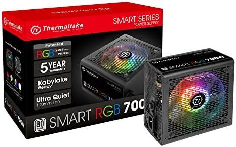 Thermaltake Smart RGB - Módulo de Fuente de 700 W, Color Negro ...