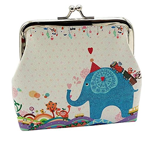 B Cute Purse Clearance Wallet mont Wallets Coin Mini Vintage 2018 Noopvan Bag Wallet Lady Clutch Hasp Butterfly Wallet Small blanc H5nRzwaqxw