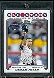Derek Jeter AS - New York Yankees - 2008 Topps Updates & Highlights Baseball Card in Protective Screwdown Display Case!