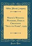 Amazon / Forgotten Books: White s Winning Wonders, Dahlia Creations True - To - Name, 1929 Classic Reprint (White Floral Company)