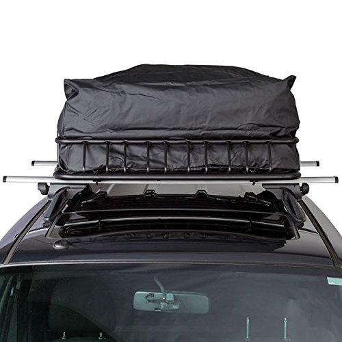 3pc Roof Rack Cargo Kit with Roof Basket, Load Bars & Storage Bag (Bundle) by Rage Powersports (Image #4)