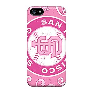 New Premium RitaniaJenkava San Francisco Giants Skin Cases Covers Excellent Fitted For Iphone 5/5s