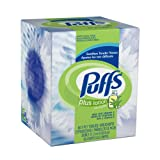 Puffs Facial Tissue Plus Lotion, 2-Ply White Tissues, 60-Count Boxes (Pack of 24) [Amazon Frustration-Free Packaging]