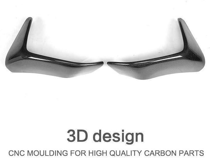 AniFM 2 ST/ÜCKE Carbon Frontsto/ßstange Lippensplitter Flap Cupwings Body Kit f/ür BMW 3er F80 M3 4er F82 F83 M4 2012-2018,A