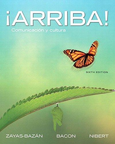 Arriba: Comunicación y cultura (6th Edition) Pdf