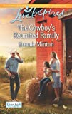 Front cover for the book The Cowboy's Family (Love Inspired) by Brenda Minton