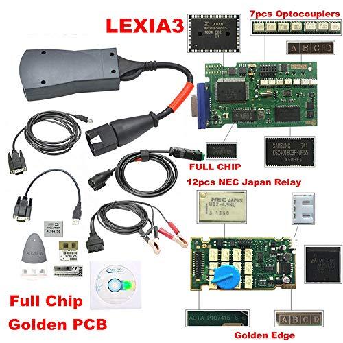 (Hadeyicar 3 Chip 921815C Firmware V7.83 Diagbox PP2000 Leccia 3 Citroen/Peugeot 12 NEC Relay 7 Optical Coupler Pro PSA Tool)