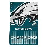 McArthur NFL Philadelphia Eagles Super Bowl 2018 Champions 16'' x 25'' Tailgate & Golf Sports Towel