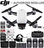 DJI Spark Portable Mini Drone Quadcopter Fly More Combo Virtual Reality Experience VR Ultimate Bundle (Alpine White) Review