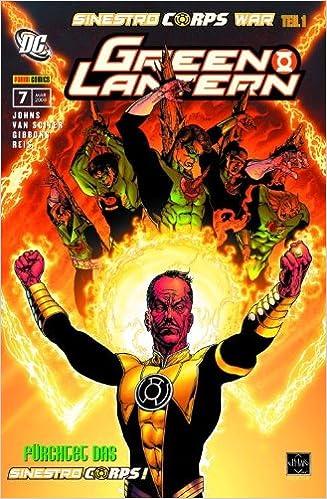 Geoff Johns - Green Lantern Sonderband 7: Sinestro Corps War 1