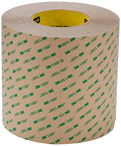 3M VHB Adhesive Transfer Tape F9473PC Clear, 2 in x 60 Yard 10 mil, 6 Rolls Per -