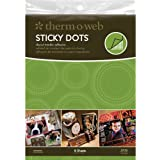 Therm O Web 8-1/2 Inch by 11 Inch Sticky Dots Die-