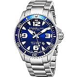 Best Dive Watches For Men - Stuhrling Original Ltd Edition Deep Blue Dial Mens Review