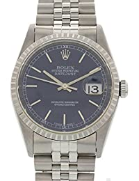 Datejust automatic-self-wind mens Watch 16220 (Certified Pre-owned)