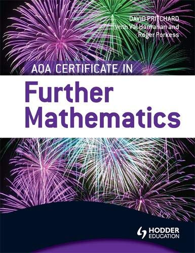 AQA Certificate in Further Mathematics: Amazon co uk: Val