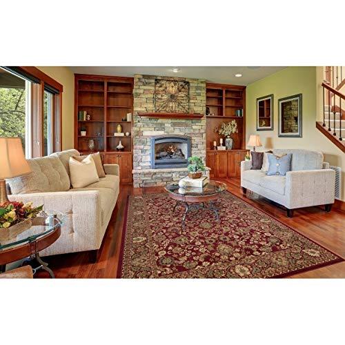 "Concord Global Trading Oriental Classics Mahal Red Rug Rug Size: 5'3"" x 7'7"" from Concord Global Trading"