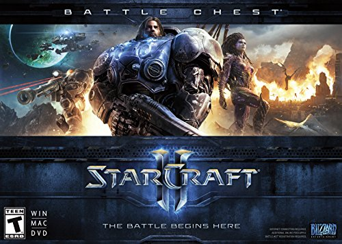 Starcraft II Battle Chest PC Mac product image