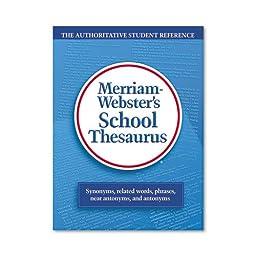 Merriam Webster - School Thesaurus, Grades 9-11, Hardcover, 704 Pages 78 (DMi EA