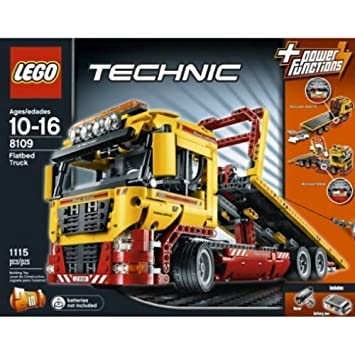 LEGO Technic Set #8109 Flatbed Truck by LEGO: Amazon.co.uk: Toys & Games