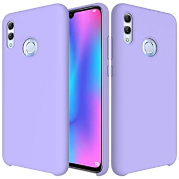 CoverTpu Funda Huawei P Smart 2019 Silicona, Porpora Funda ...