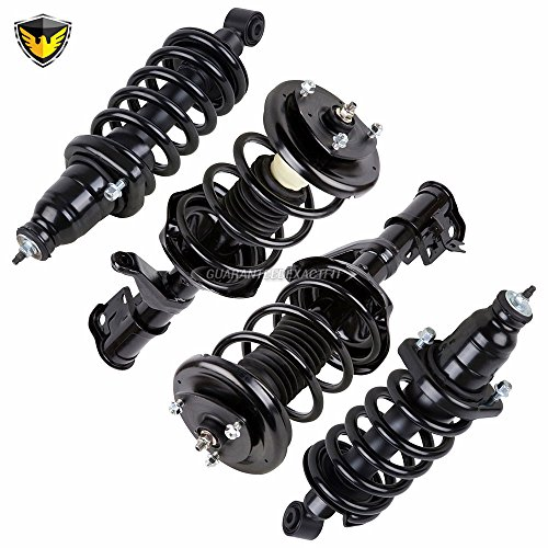 - Complete Set Duralo Front Rear Strut Spring Assembly For Honda Element - Duralo 1192-1301 New
