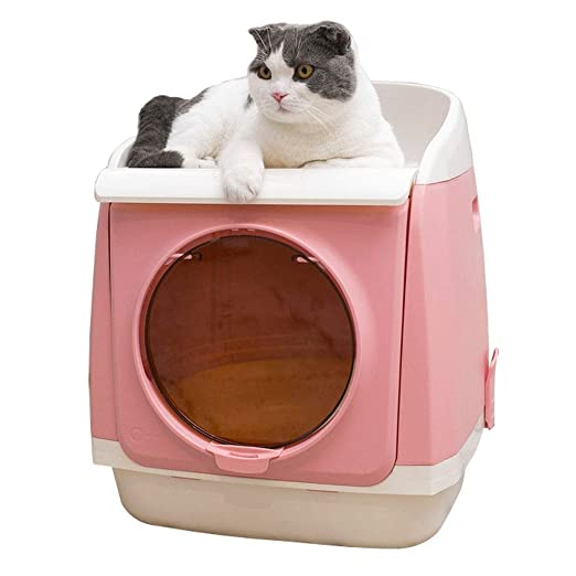 Adiestramiento Inodoro Caja de arena for gatos, casa for ...