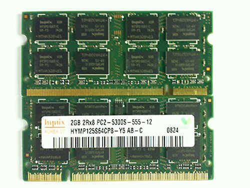 - HYNIX HYMP125S64CP8-Y5 2GB NOTEBOOK SODIMM DDR2 PC5300(667) UNBUF 1.8v 2RX8 200P 256MX64 128mX8 CL5