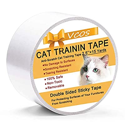 Cat scratching Double Sided Cat Tape Anti Scratch Cat Training Tape for Door... [tag]