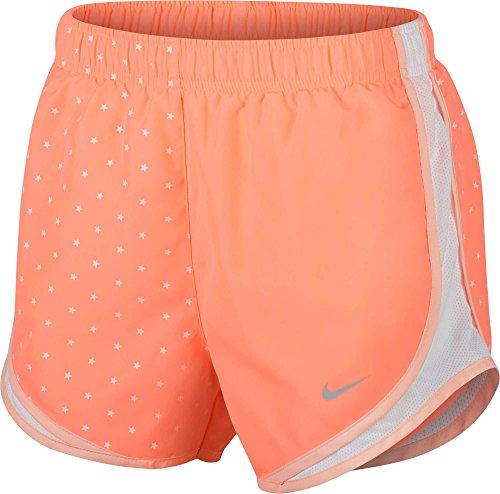 Nike Women's Dry Tempo Americana 3'' Running Shorts (Crimson Pulse, X-Small) ()