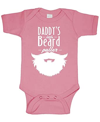 126af2d80 Amazon.com  Daddy s Little Beard Puller - Epic Manly - Cotton Infant ...