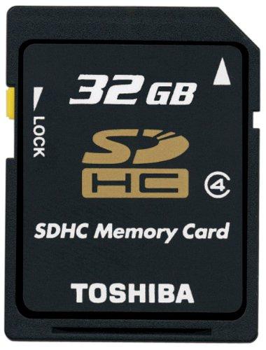TOSHIBA SDHCメモリカード Class4 32GB SD-AH32GWF [フラストレーションフリーパッケージ(FFP)]